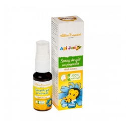 SPRAY DE GAT FORTE CU PROPOLIS 20ml Albina Carpatina