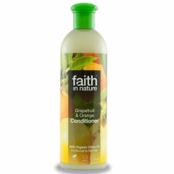 Balsam de par cu grapefruit si portocale, pt. par normal sau gras, Faith in Nature, 250 ml